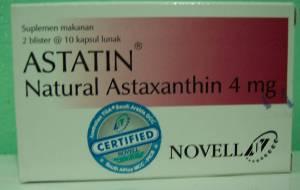 Astatin Natural Astaxanthin 4 mg